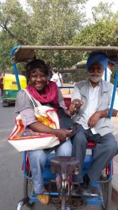 promenade à New Delhi