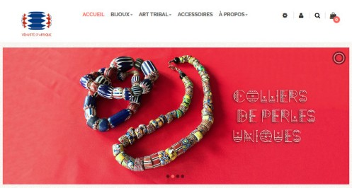 Une site Vénusté d'afrique